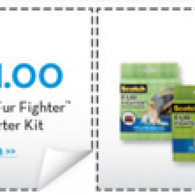 "Scotch ""Fur Fighter"" Hair Removal Coupons"