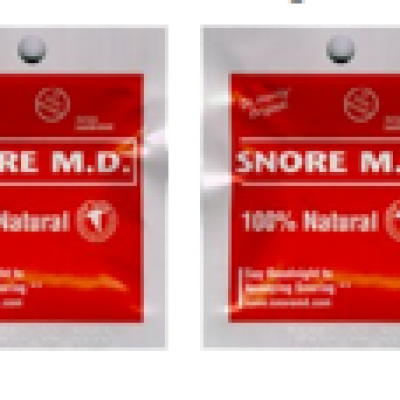 2 Packet Free Sample Snore M.D.