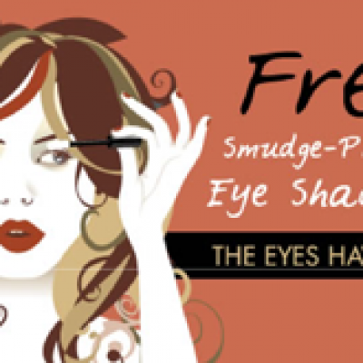 Free Smudge-Proof Eye Shadow