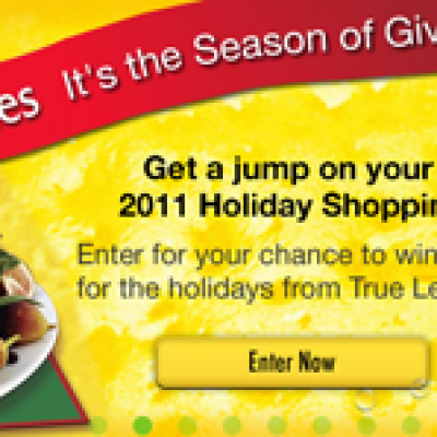 Holiday Cash Sweepstakes From True Lemon