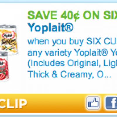 Yoplait Yogurt Coupon