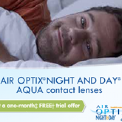 Free Trial Offer: Air Optic Night & Day Contact Lenses