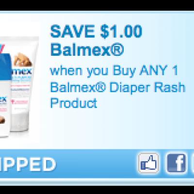 Balmex Diaper Rash Coupon