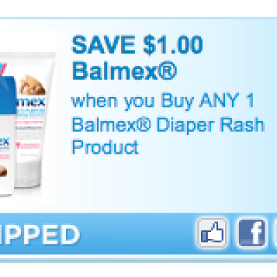 Balmex Diaper Rash Coupon