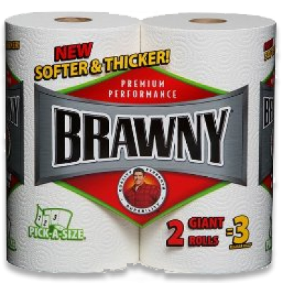 $.55 Off Brawny Paper Towels