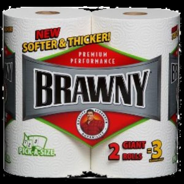 $.55 Off Brawny Paper Towels