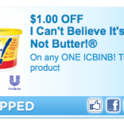 I Can't Believe It's Not Butter! Coupon