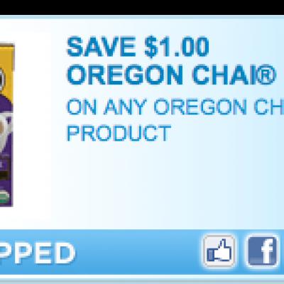 Oregon Chai Tea Coupon