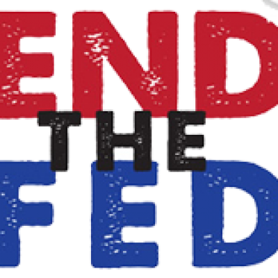 """Free """"End The Fed"""" Bumper Sticker"""