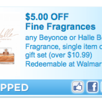 Beyonce or Halle Barry Fragrance Coupon