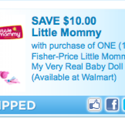 Fisher Price: Little Mommy Doll Coupon