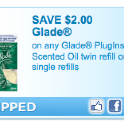 Four Glade Product Coupons