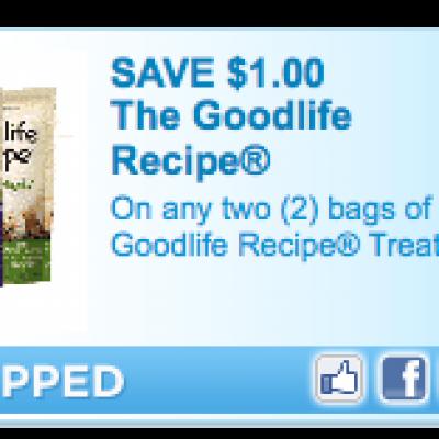 The GoodLife Recipe Coupon