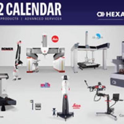 Free 2012 Hexagon Calendar