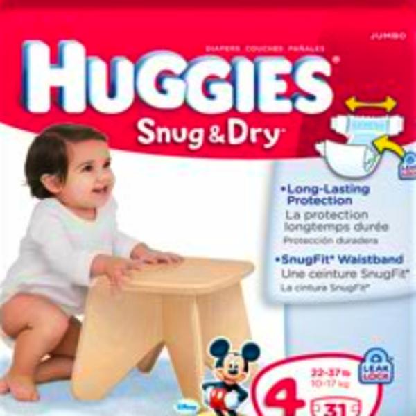 Free Huggies Snug & Dry Diapers Sample