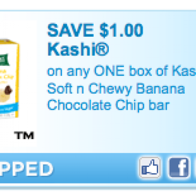 New High Value Kashi Coupons
