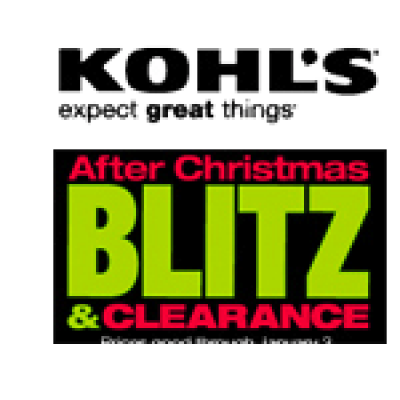 Kohl's After Christmas Blitz
