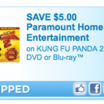Save $5 on Kung Fu Panda 2