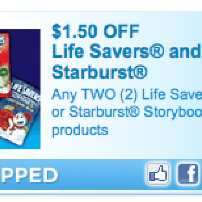 LifeSaver & Starburst Coupon