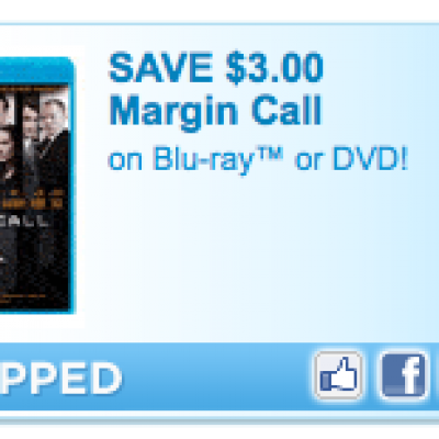 Save $3.00 on Margin Call Blu-ray or DVD