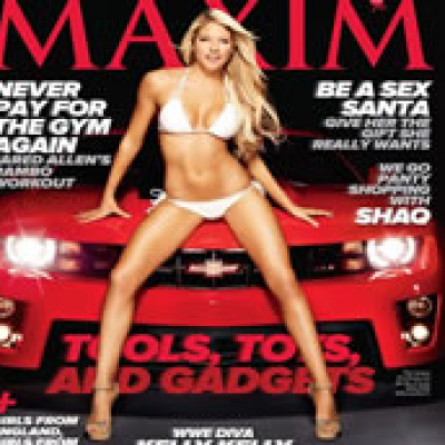 One Year Free Subscription of Maxim.