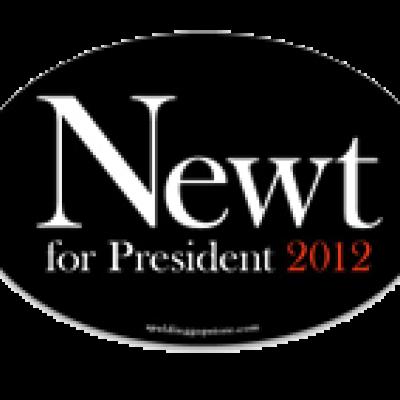 Free Newt Gingrich 2012 Bumper Sticker