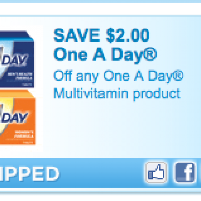 One A Day Vitamin Coupon