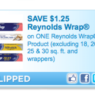 High Value Reynolds Wrap Coupon
