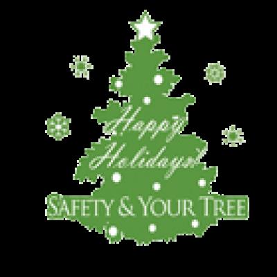 Christmas Tree Fire Safety Hang Tag
