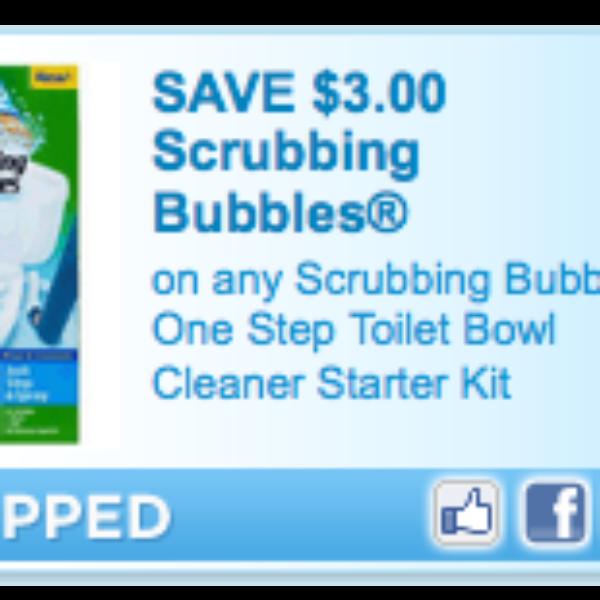 Scrubbing Bubbles One Step Toilet Kit Coupon