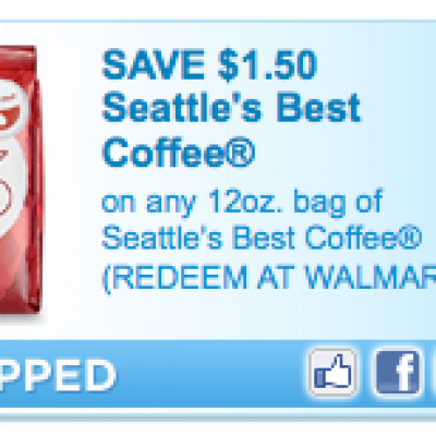 """New"" Seattles Best Coffee Coupon"