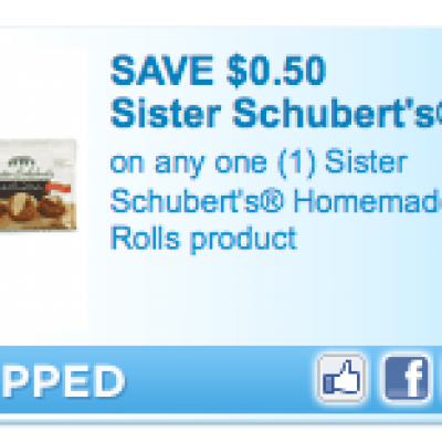 """""""New"""" Sister Schubert's Coupon"""