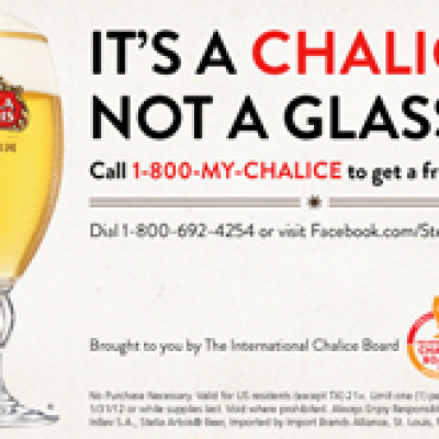 Free Stella Artois Chalice
