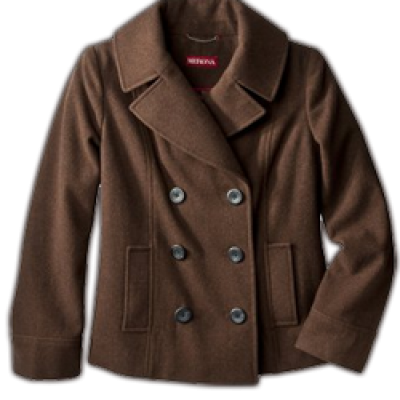 Target Daily Deals: Wool Pea Coat Only $20 (Regular Price $49.99)