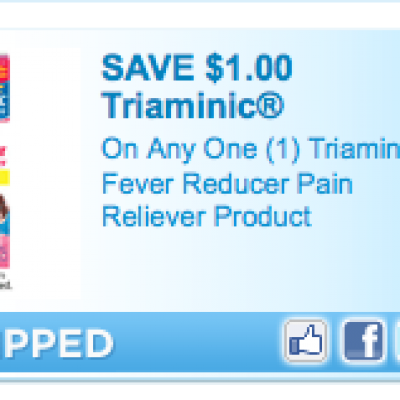 """""""New"""" Triaminic Coupons"""