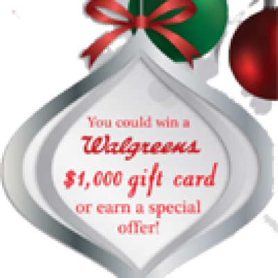 Walgreens: Holiday Instant Win Game
