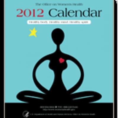 Free Women's Health 2012 Calendar