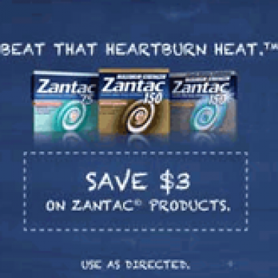 Save $3.00 on Zantac