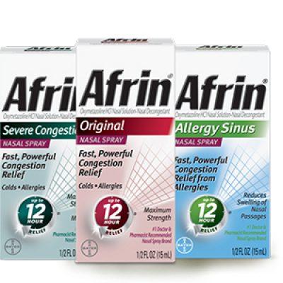 Afrin Coupon