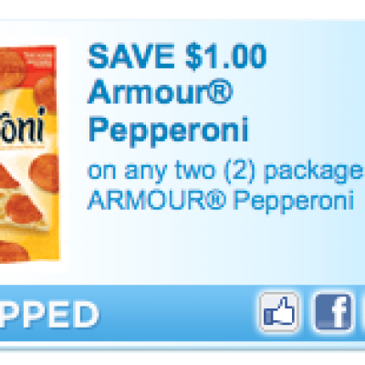 Armour Pepperoni Coupon