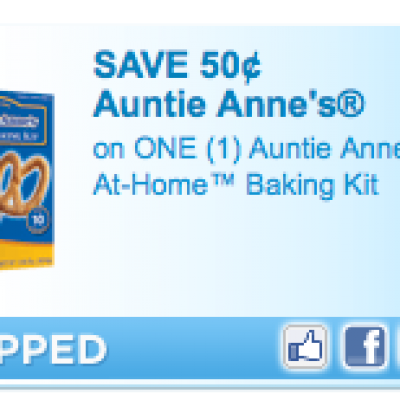 Auntie Anne's® At-Home™ Baking Kit Coupon