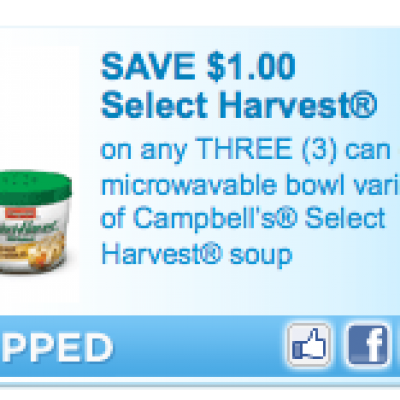 Campbell's Soup Select Harvest Coupon