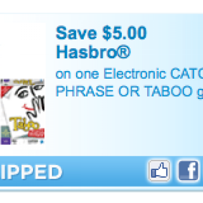 Hasboro Game Coupon