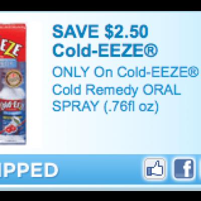 Cold-Eeze Coupon