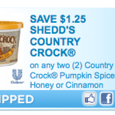 Country Crock Flavored Spread Coupon