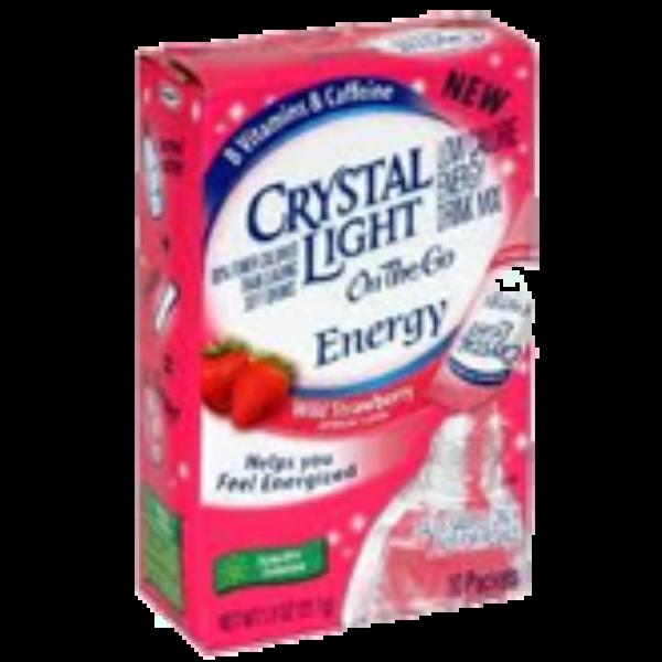 Free Sample of Crystal Light Energy