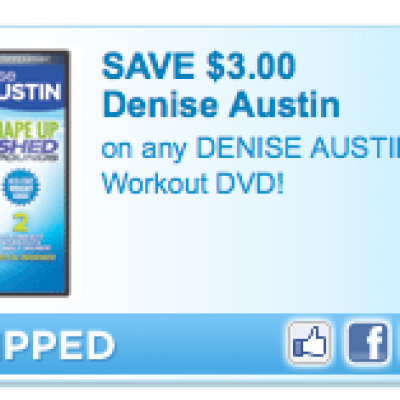 DENISE AUSTIN Workout DVD Coupon
