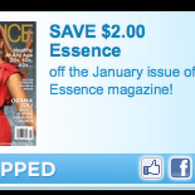 Save $2 on Essence Magazine