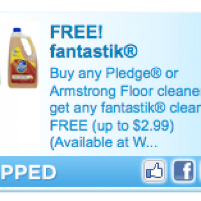 Free Fantastik Coupon