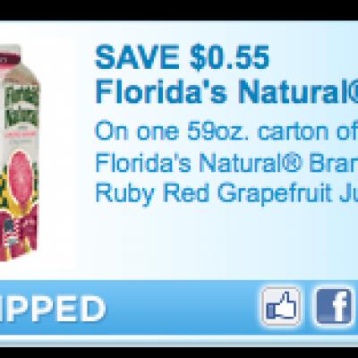 Florida's Natural Juice Coupon